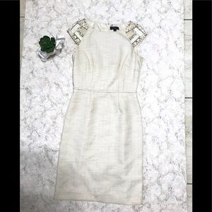 Tahari dress with beads size 4